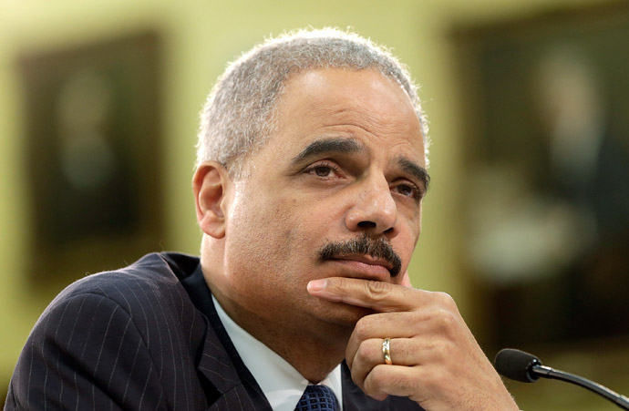 U.S. Attorney General Eric Holder (Win McNamee/Getty Images/AFP)