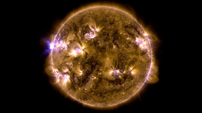 Solar storm strikes Earth following monster flare (VIDEO)
