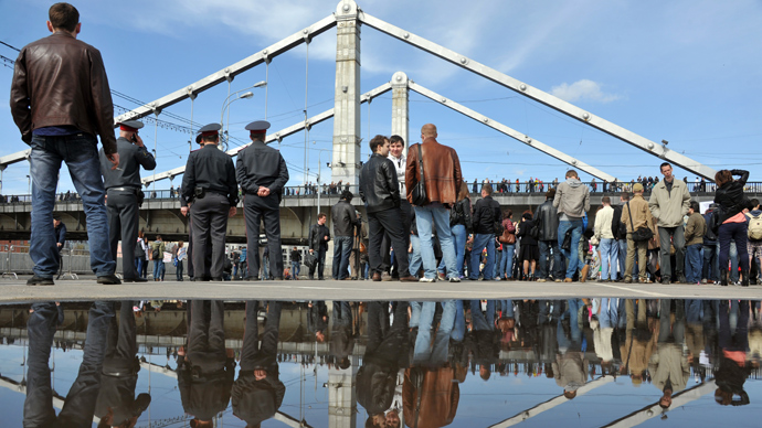 "Moscow's ""Hyde Parks"" (RIA Novosti / Artem Zhitenev)"