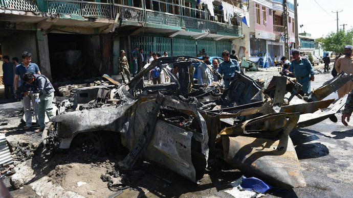 Six US personnel killed in Kabul suicide blast