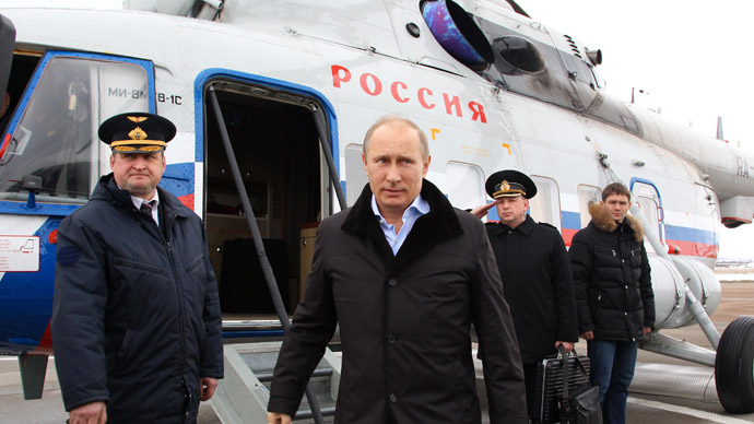 Fly me to the Kremlin: Putin to commute to work by chopper