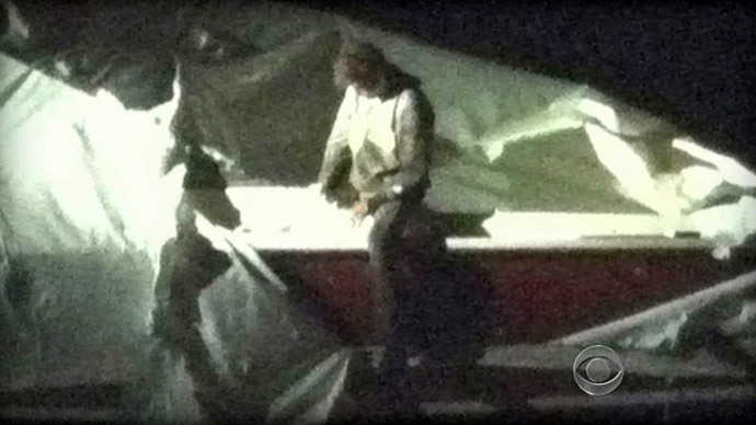Bloody confession: Tsarnaev 'wrote note' inside boat prior to arrest