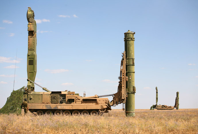 Anti-aircraft S-300V missile system (RIA Novosti)