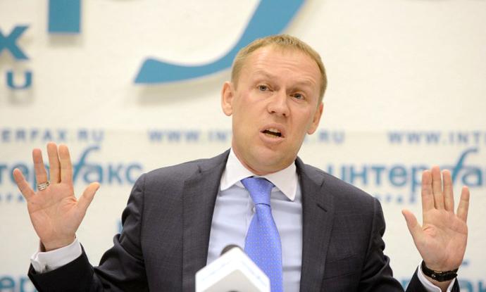 Russian parliamentarian Andrey Lugovoy. (AFP Photo / Natalia Kolesnikova)