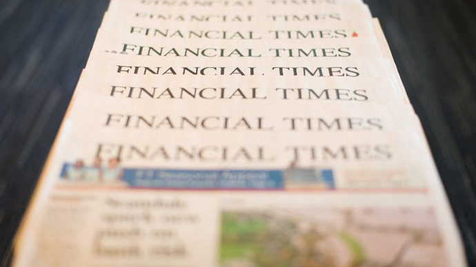 Financial Times latest Western media outlet hacked by Syrian Electronic Army