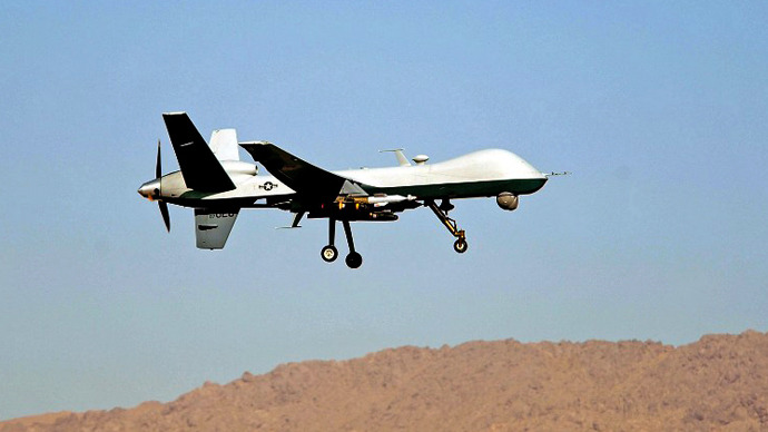An Air Force MQ-9 Reaper. (AFP Photo / James Lee Harper Jr.)