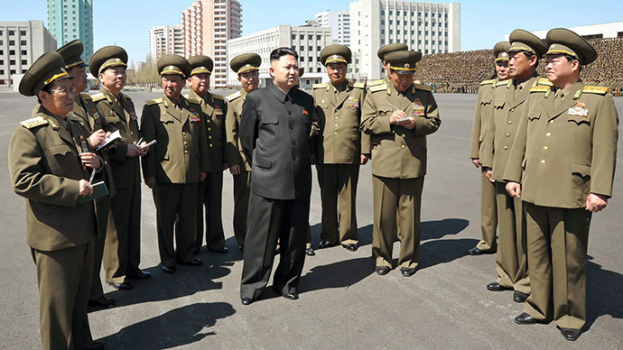 'US opposes formal North-South peace treaty' - Pyongyang