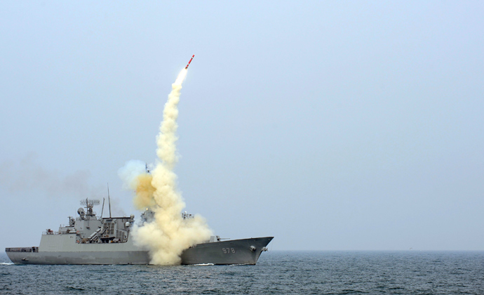 A South Korean navy destroyer (Reuters / South Korean Navy)