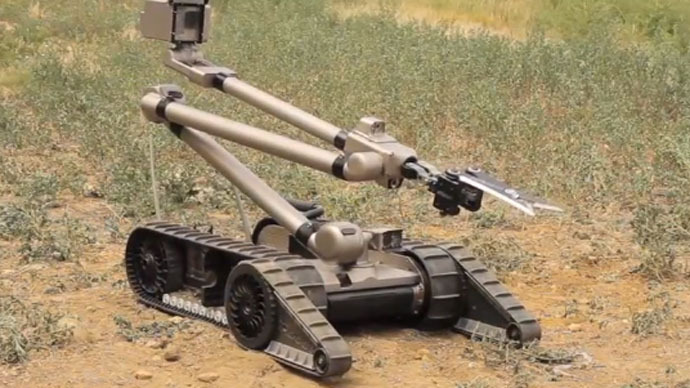 US robots, Israeli drones to help make 2014 World Cup in Brazil 'one of safest sporting events ever'