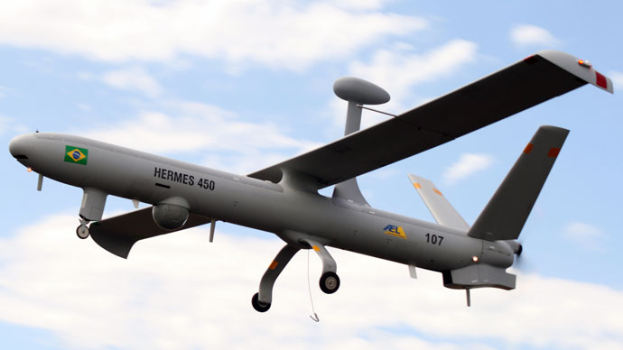 Hermes 450 drone.(AFP Photo / Elbit Systems)