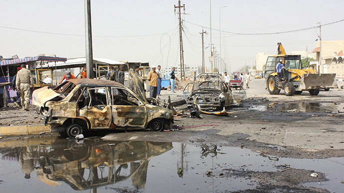 At least 95 dead, dozens wounded as string of bombings hit Iraq