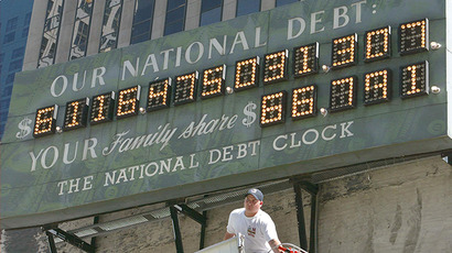 Total US debt soars to nearly $60 trn, foreshadows new recession