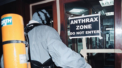 Dozens of US government employees potentially exposed to live anthrax