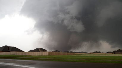 Oklahoma twister spawns political firestorm in Washington