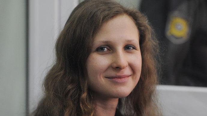 Pussy Riot's Alyokhina announces hunger strike