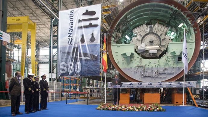 Spain spent $680 million on submarine that 'can't resurface'