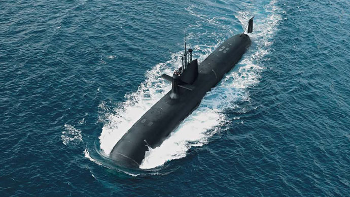 A computer-generation image of the S-80 class submarine (Image: navantia.es)