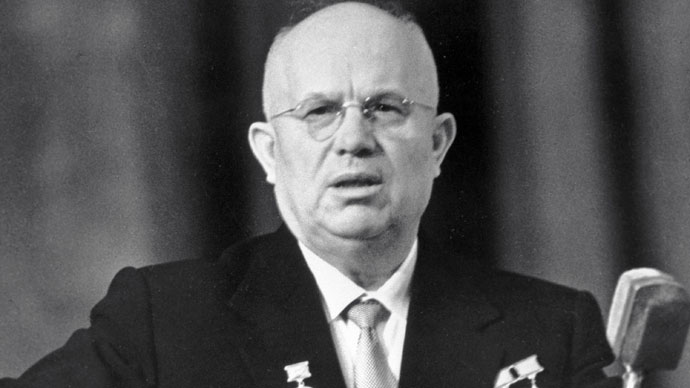 First Secretary of the Soviet Communist Party Central Committee and Chairman of the USSR Council of Ministers Nikita Khrushchev.(RIA Novosti)