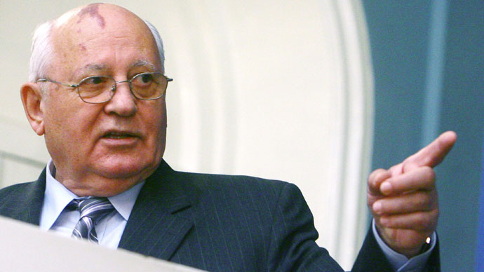 Soviet Ex-President Mikhail Gorbachev.(RIA Novosti / Aleksey Nikolskyi)