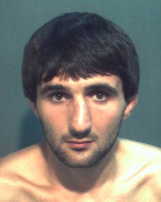 Ibragim Todashev is pictured in this undated booking photo courtesy of the Orange County Corrections Department (Reuters)