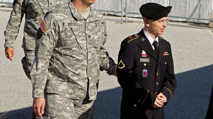 Bradley Manning (Reuters / Jose Luis Magana)