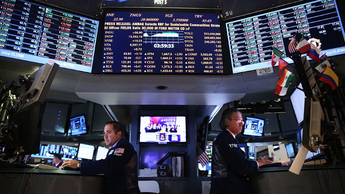 Global markets fall on news from Fed, China PMI