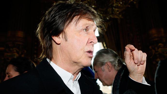 Paul McCartney.(AFP Photo / Patrick Kovarik)