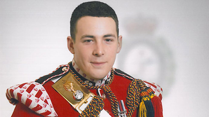 Woolwich victim identified as drummer, machine gunner Lee Rigby