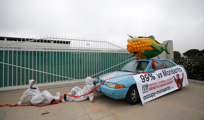 Challenging Monsanto: 200,000 in 40 countries to rally against GMO 1