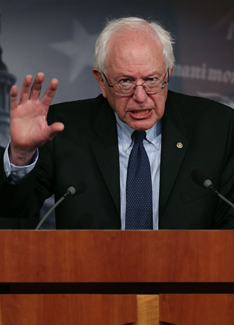 Sen. Bernie Sanders. (AFP Photo / Mark Willson)