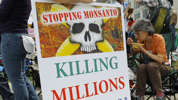 On the eve of March against Monsanto Senate shoots down GMO labeling bill