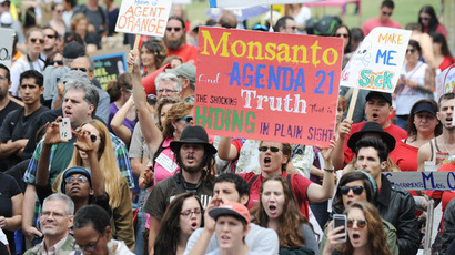 From Alaska to Florida: Americans take to streets against Monsanto and GMOs (PHOTOS, VIDEO)