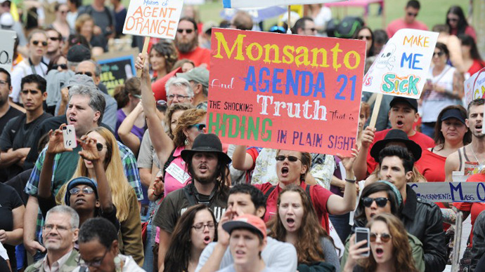 Global march challenges Monsanto's dominance: TIMELINE