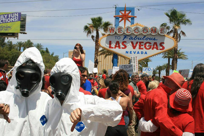The March Against Monsanto, Las Vegas. (Image from facebook.com)