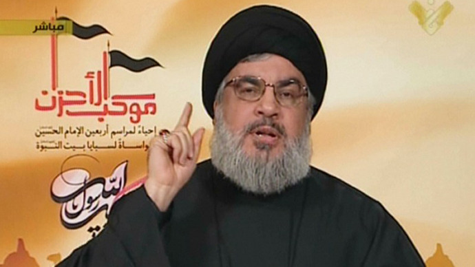 Hezbollah leader vows to win Syrian war
