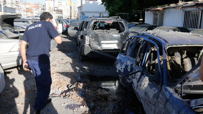 Twin blasts at Beirut Hezbollah stronghold injure at least 5 (PHOTOS)