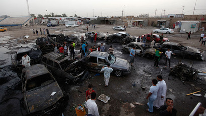 New violence surge across Iraq kills at least 70