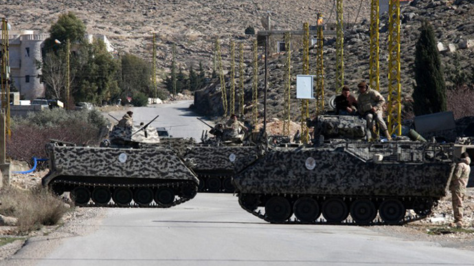 3 Lebanese soldiers killed near Syrian border