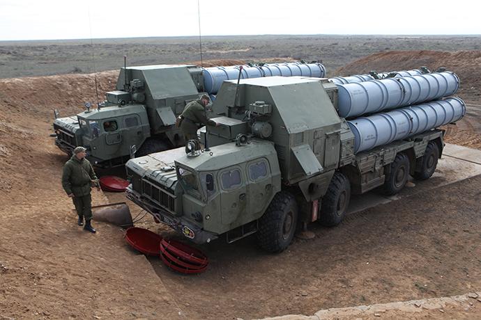 S-300 anti-aircraft missile system. (RIA Novosti / Vladislav Belogrud)