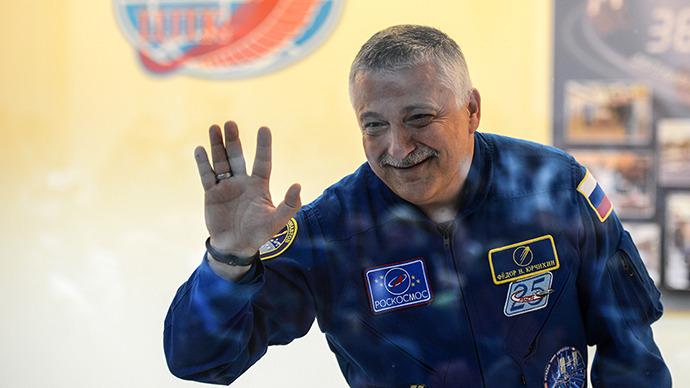 Russian cosmonaut Fyodor Yurchikin. (RIA Novosti / Vladimir Astapkovich)