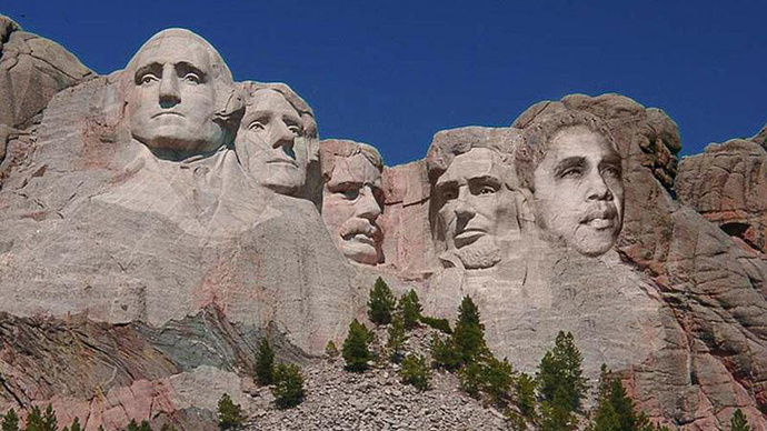 Will Obama end up on Mount Rushmore?