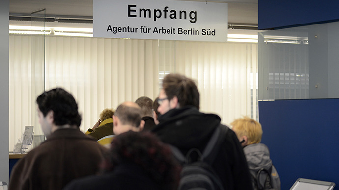 Los solicitantes de empleo alemanes