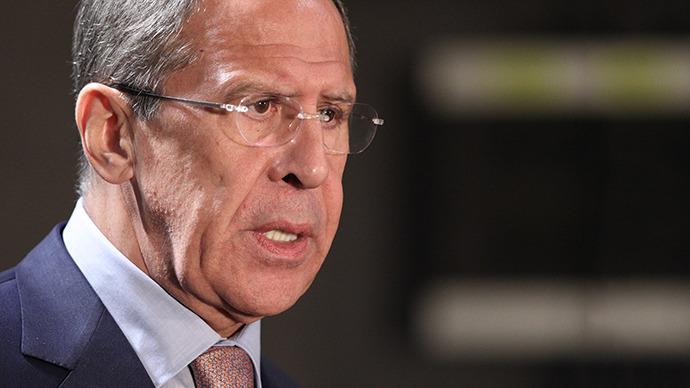 Russia's Foreign Minister Sergey Lavrov (RIA Novosti / Mikhail Mokrushin)