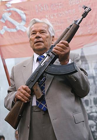 Mikhail Kalashnikov (RIA Novosti / Iliya Pitalev)