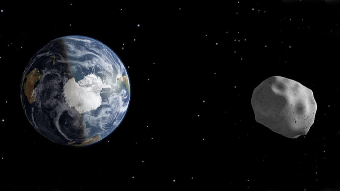 'Potential city killer' asteroid with an orbiting moon flies near Earth