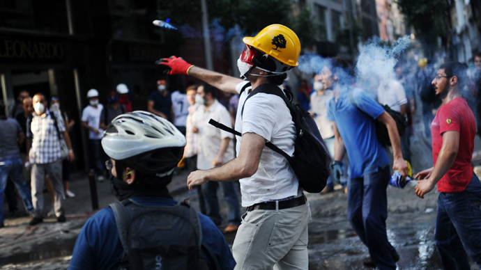 Turkey imported 628 tons of teargas and pepper spray in 12 years – report