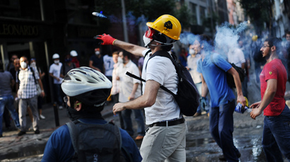 Turkish activists rail against media for ignoring protests, police brutality