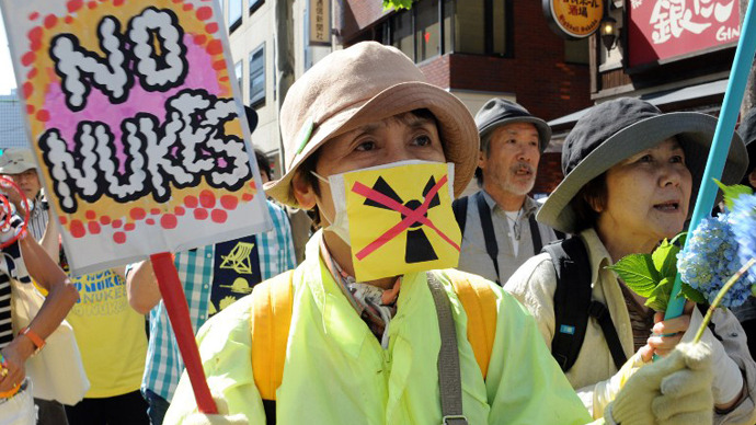 'No nukes': Thousands in Tokyo rally against nuclear power (PHOTOS)