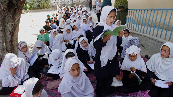 Almost 100 Afghan schoolgirls poisoned in suspected gas attack