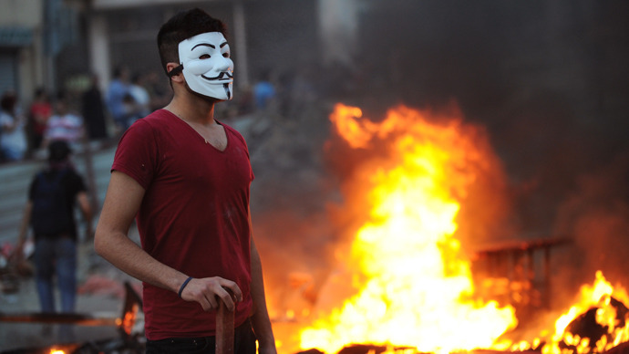 Anonymous declares #OpTurkey, attacks govt websites in support of protests